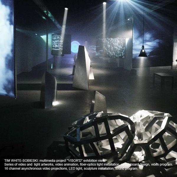 Exhibition D View : File tim white sobieski multimedia art project visor d