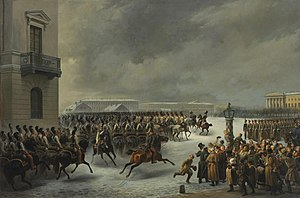 History of Russia (1796–1855) - Decembrist Revolt by Georg Wilhelm Timm