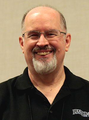 Timothy Zahn - Zahn at the 2017 Phoenix Comicon
