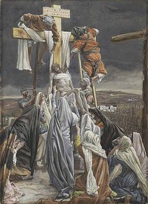 Méditations sur la Passion du Christ pendant le Carême 2019 selon Saint-Bonaventure  - Italie - 13 eme siècle 290px-Tissot-the-descent-from-the-cross