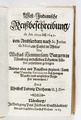 """Titelblad till """"Västindindisk reseberättelse"""" från 1663 på tyska - Skoklosters slott - 93288.tif"""