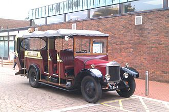 University of Southampton - Toast rack, a 1929 Dennis GL that has been owned by the University of Southampton Engineering Society since 1958.