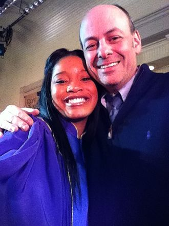 Todd Graff - Keke Palmer and Todd Graff