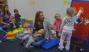 English: Toddler Story Time