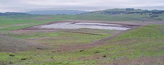 Tolay Lake lake in Sonoma County, California