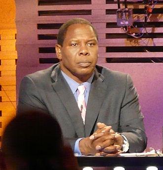 Tom Jackson (American football, born 1951) - Jackson at the 2010 NFL Draft