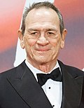 Photo of Tommy Lee Jones at the Tokyo International Film Festival in 2017.
