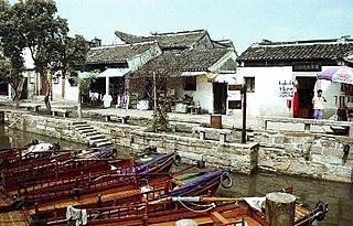 Wujiang District, Suzhou District in Jiangsu, Peoples Republic of China