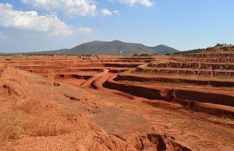 Skourta - Clay pit near Skourta.