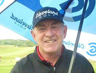 Tony Johnstone professional golfer