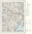 Topographic map of Norway, F34 aust Tyristrand, 1964.jpg