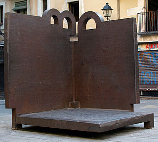 sculpture by Eduardo Chillida