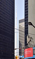 View from Bay Street, Toronto, to the CN Tower