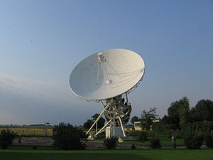 Toruń Centre for Astronomy - Toruń 15-metre antenna – RT3