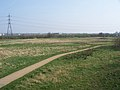 Tottenham Marshes from Northumberland Park footbridge.JPG
