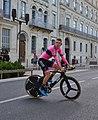 Tour d'Espagne - stage 1 - Manzana Postobon après la course.jpg