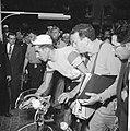 Tour de France , Bahamontes scheidt er uit, Bestanddeelnr 911-3736.jpg