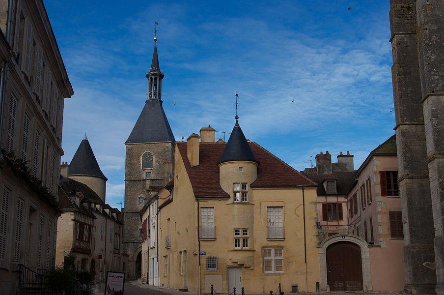Clock Tower Avallon (Saint-Lazare view)