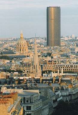 tour montparnasse wikip dia. Black Bedroom Furniture Sets. Home Design Ideas