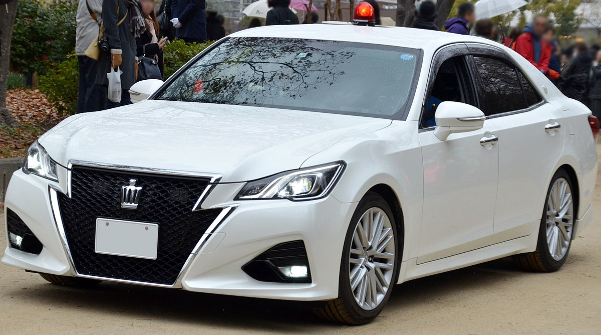Px Toyota Crown Grs Unmarked Car