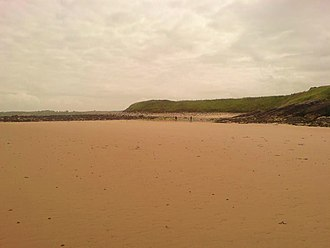 Dulas Bay - The southern section of Traeth Yr Ora