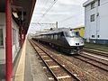 Train at Miyazaki-Jingu Station.jpg