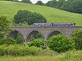 Train on Forder viaduct.jpg