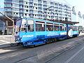 Tram 167 Hobujaama Stop Tallinn 31 July 2014.JPG