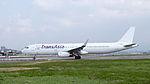 TransAsia Airways Airbus A321-231 B-22610 Departing from Taipei Songshan Airport 20150101e.jpg