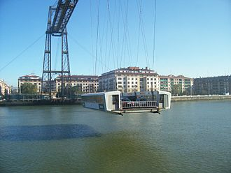 Vizcaya Bridge - Image: Transbordador puente vizcaya