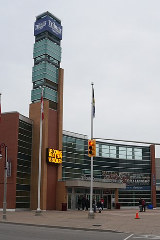 Tribute Communities Centre - Image: Tribute Communities Centre Exterior
