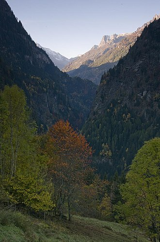 Trient, Switzerland - Trient valley