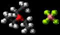 Triethyloxonium tetrafluoroborate 3D ball.png