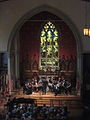 Trinity Church NOLA Independence Day Concert 2012 New Leviathan Archway.JPG