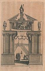 Triomfboog ter ere van de H. Eugenius, bisschop van Toledo