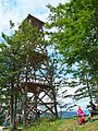 Trojposchodová drevená turistická rozhľadňa. - panoramio.jpg