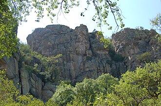 Tsodilo - Tsodilo Hills in Northwestern Botswana.