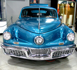 Tucker 48 - 1948 Tucker Sedan in Waltz Blue
