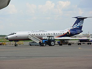 Aeroflot Flight 8381 - Image: Tupolev Tu 134