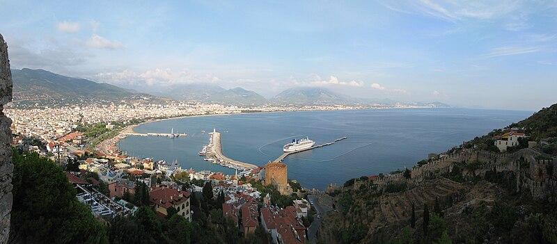 File:Turkey, Alanya, panorama view.JPG