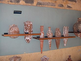 History of marketing - In pre-literate societies, the distinctive shape of amphora served some of the functions of a label, communicating information about region of origin, the name of the producer and may have carried product quality claims