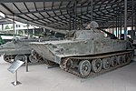 Type 63 amphibious tank front-left2 2015 Military Museum Beijing.jpg