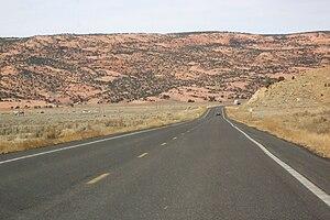 U.S. Route 160 - U.S. Route 160 in Arizona