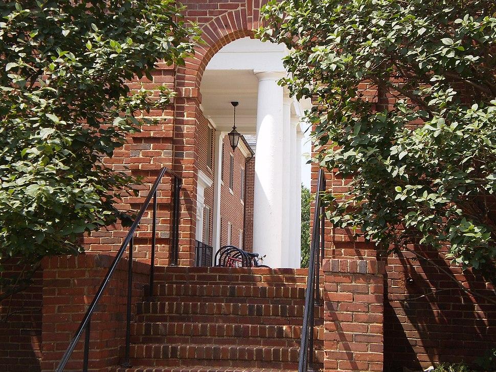 UMD brick entryway