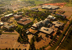 University of Prince Edward Island - An aerial view of the UPEI campus in 2008