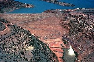 Abiquiu Lake - Image: USACE Abiquiu Dam New Mexico