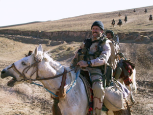 23rd Special Tactics Squadron - Then-MSgt Bart Decker from the 23rd STS, on horseback in the Balkh valley, during the initial days of the U.S. invasion of Afghanistan in 2001.