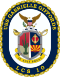USS Gabrielle Giffords crest.png