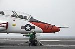USS George Washington conducts flight operations. (25330248784).jpg