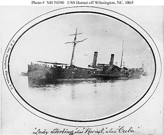 USS <i>Hornet</i> (1865) US Navy side wheel steamer commissioned in 1865